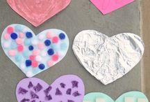 Hjerteaktivitet / Kreative aktiviteter for barn med fokus på hjerte.