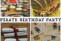 Kinderfeestje Piraat / Omdat elk feest een thema nodig heeft...Argh!
