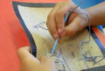 Sewing with the kids