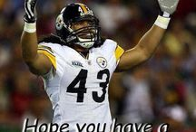 Steelers!! / TROY! My fave! / by Shawn Presley