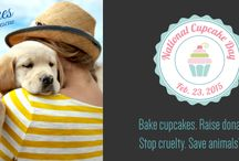"National Cupcake Day for SPCAs and Humane Societies / Resources to help you ""bake"" a difference in the lives of neglected, abused and abandoned animals."