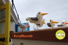 CraftBomb / Brighten up your community and help celebrate Voluntary Arts Week with an explosion of colour and creativity  from Friday 6 - Sunday 15 May 2016! Creative groups, crafty individuals and venues looking for a fun makeover are all invited to take part.  Find out more by downloading the craftBomb toolkit here - www.voluntaryartsweek.org/craftbomb/