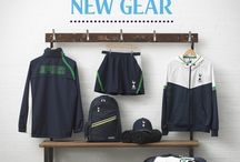 New Year, New Gear / New Mens and Boys training clothing. Perfect for the gym, games and more. / by Tottenham Hotspur