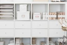For the home: office / Ideas and inspiration for creating the perfect home office. From furniture to stationery.