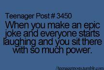 Teenage posts 101✌️
