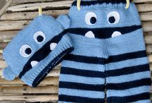 Knitted Pants - Children