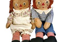 Raggedy Ann & Andy dolls / by Connie Tognoli