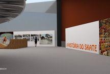 Projetos - Exposição História do Skate / Memorial de Curitiba
