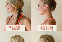 Hairspiration / Just because you're working hard, it doesn't mean you're hair can't look flawless. While a ponytail is always a simple go-to option, here are some ideas for when you want to switch things up. / by Beachbody
