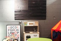 Playroom Ideas / by Tricia Allen