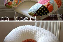 Pillows...cushions...poufs