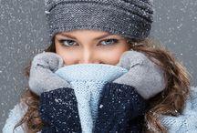 Фотосессия Девушки зима