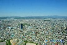 Home town / My hometown is Daegue. This city is the third biggest city in korea.