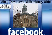 Icon Links to other Shop Downtown Millersburg, Ohio Pages