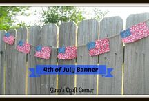 Patriotic Themes / by Gina's Craft Corner
