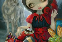 Jasmine Becket-Griffith / by Jen Dowd