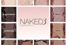 Naked 3 inspired wedding / Wedding inspiration board using the colours of the naked 3 palette