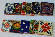 mexican tiles & stencils
