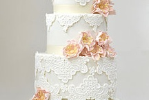Cakes - lace inspired / by Cake Envy Melbourne