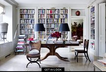 The Ledge House library ideas