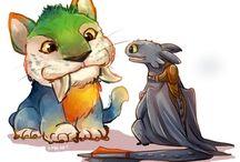 Chimuelo y Stitch