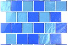 Landscape / Popular in pools, kitchens, and baths, the GBM Landscape Collection line of glass mosaics makes for a beautiful addition to any indoor or outdoor space