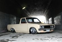 Mini Trucks / bagged and static Utes.