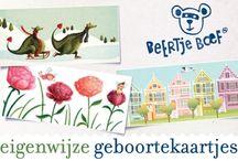 geboortekaartjes van Beertje Boef