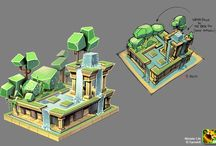 LowPoly game design
