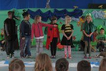 Zespół Szkolno-Przedszkolny w Łukcie - przedstawienie o pszczołach