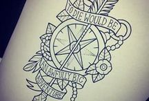 Tattoo Ideas / I love tattoos ❤ and in future I want one (or more)