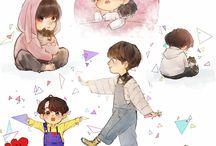 BTS (dibujos