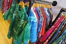 Batik Shirts / Hand made original batik shirts with both contemporary and Celtic designs