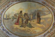 Soffitti artistici / Pareti e soffitti decorati nei palazzi di Udine: opere d'arte che ci fanno rimanere con il naso all'insù!