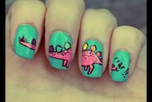 Nail Art Inspiration / Awesome Nail Art I want to recreate some day