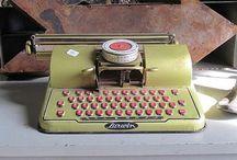 The Flaming Typewriter