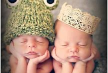 TWINS!! / We are doubly blessed!!  / by Amy Riordan