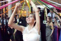 boda lanzar el ramo