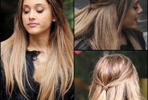 hair: color, style