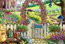 Ogrody w malarstwie