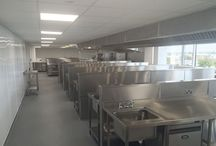 Southport College Electrical Project / New lighting and power provisions to the catering and classroom facilities.