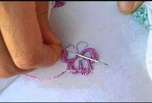 bordados  a mão