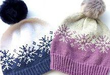 pletené čepice