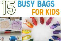 Busy Bags / by Tiara Jarrell