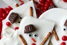 Winter Holiday Recipes + Ideas / Winter holiday, Hanukkah, and Christmas themed recipes and ideas