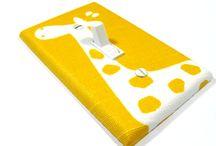 Giraffe nursery / Giraffe everything / by Karen Akilan
