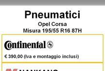 Offerte Pneumatici / Tutte le offerte sui pneumatici per la tua Opel