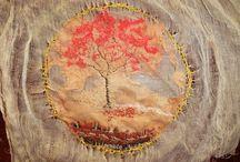 Art Textile arbre