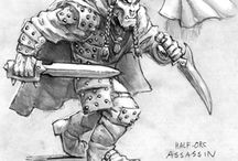 Half Orcs / by Matthew Caulder