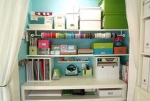 Home Inspiration - Craft/Sewing Room / by Jackie Petersen